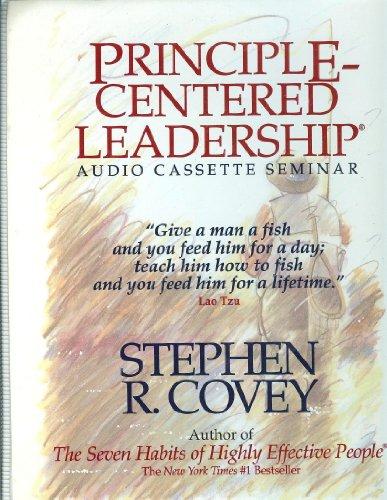 9780028639123: Principle-Centered Leadership [Audio Cassette]