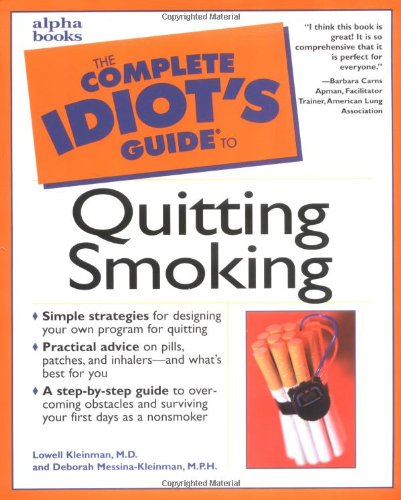 9780028639154: Complete Idiot's Guide to Quitting Smoking