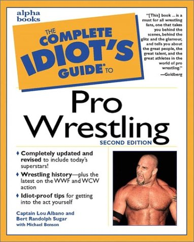 9780028639611: The Complete Idiot's Guide to Pro Wrestling