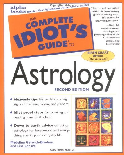 9780028639697: The Complete Idiot's Guide to Astrology