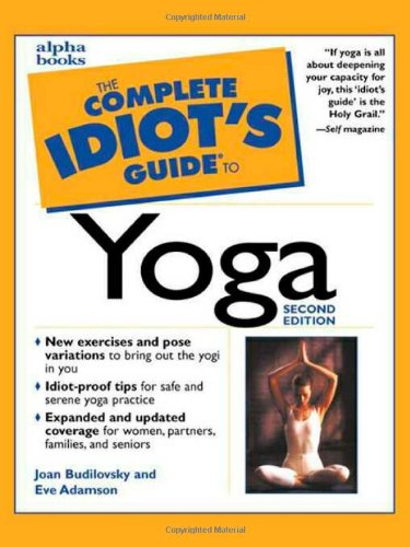 9780028639703: The Complete Idiot's Guide to Yoga