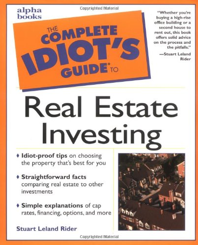 9780028639765: Complete Idiot's Guide to Real Estate Investing