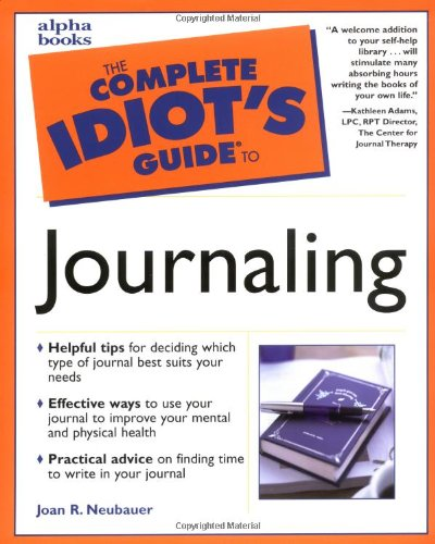 9780028639802: Complete Idiot's Guide to Journaling