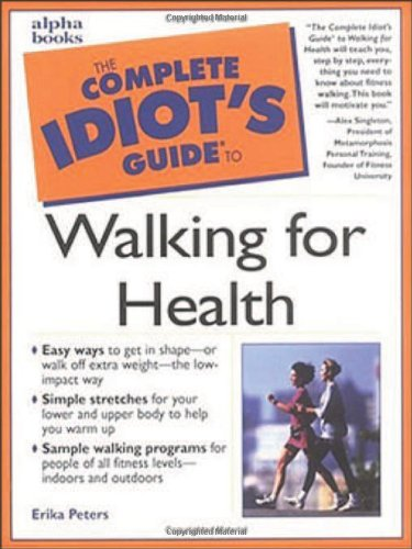 9780028640020: Complete Idiot's Guide to Walking for Health