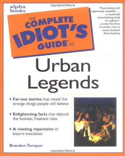 9780028640075: Complete Idiot's Guide to Urban Legends
