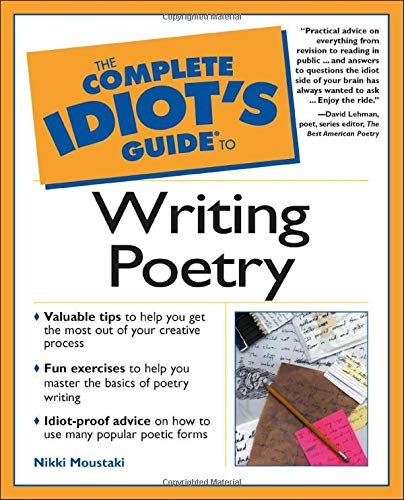 9780028641416: Complete Idiot's Guide to Writing Poetry