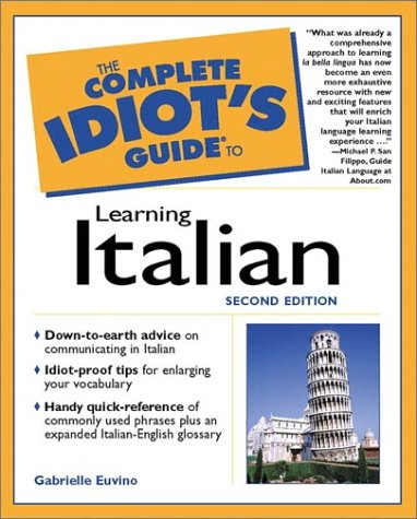 9780028641478: The Complete Idiot's Guide to Learning Italian