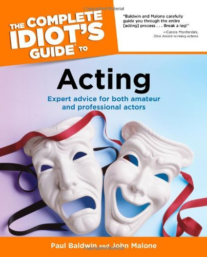 9780028641539: The Complete Idiot's Guide to Acting