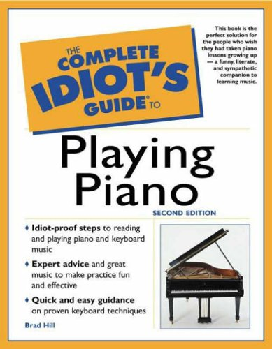 9780028641553: The Complete Idiot's Guide to Playing Piano