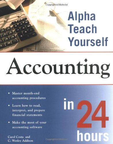 9780028641584: Alpha Teach Yourself Accounting in 24 Hours