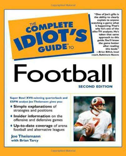 9780028641676: The Complete Idiot's Guide to Football