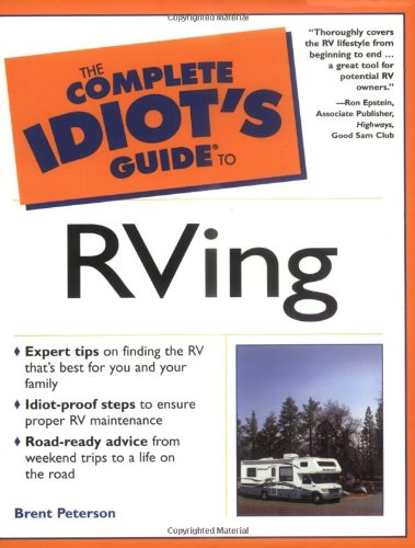 9780028641713: The Complete Idiot's Guide to Rving