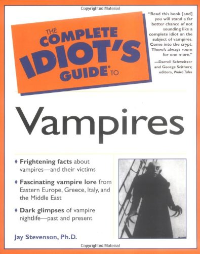 9780028641812: The Complete Idiot's Guide to Vampires