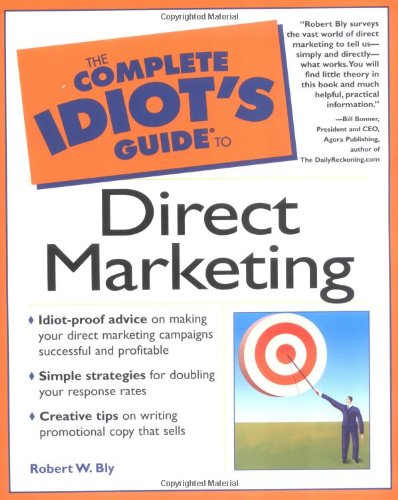 9780028642109: The Complete Idiot's Guide to Direct Marketing