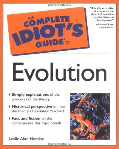 9780028642260: The Complete Idiot's Guide(R) to Evolution