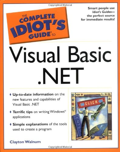 9780028642314: The Complete Idiot's Guide to Visual Basic .NET