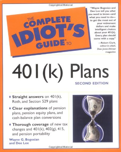 9780028642406: The Complete Idiot's Guide to 401(k) Plans (2nd Edition)