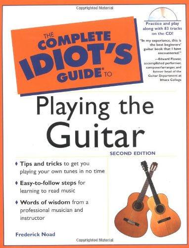 9780028642444: The Complete Idiot's Guide to Playing the Guitar