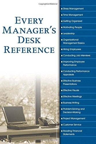 9780028642680: Every Manager's Desk Reference