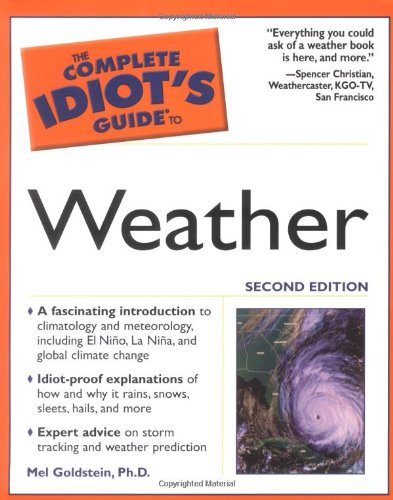 9780028643410: The Complete Idiot's Guide to Weather