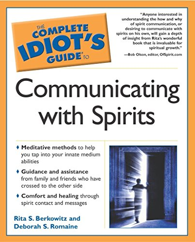9780028643502: The Complete Idiot's Guide to Communicating With Spirits (Idiot's Guides)