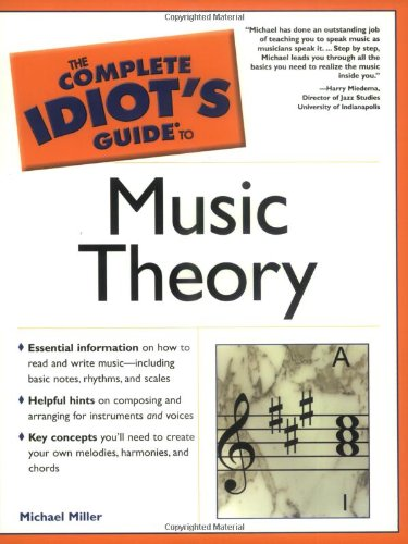 9780028643779: The Complete Idiot's Guide to Music Theory (1st Edition)