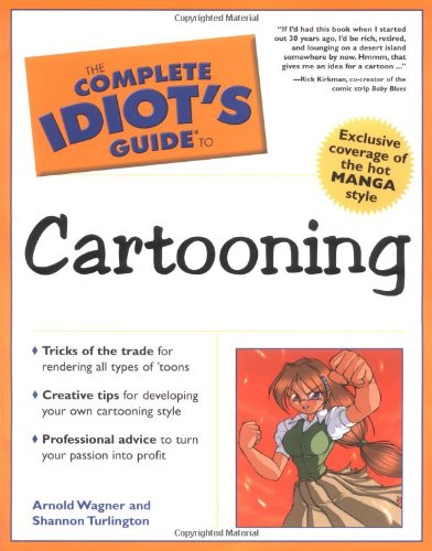 9780028643793: The Complete Idiot's Guide to Cartooning