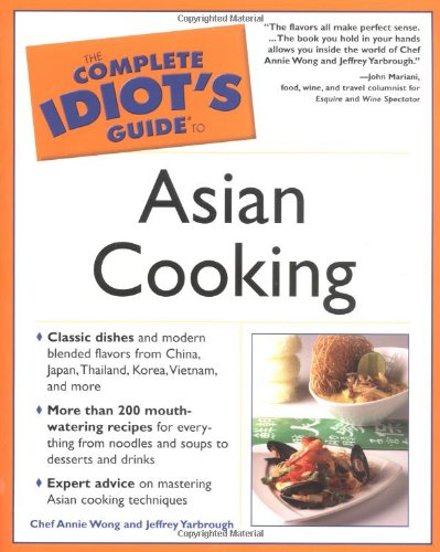 9780028643847: The Complete Idiot's Guide to Asian Cooking