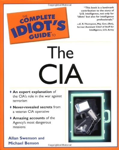 9780028643960: The Complete Idiot's Guide to the CIA