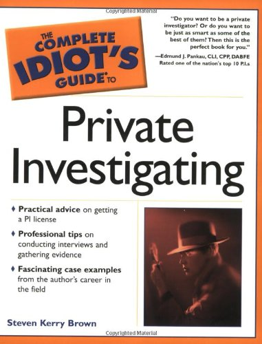 9780028643991: The Complete Idiot's Guide(R) to Private Investigating