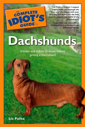 9780028644042: The Complete Idiot's Guide to Dachshunds