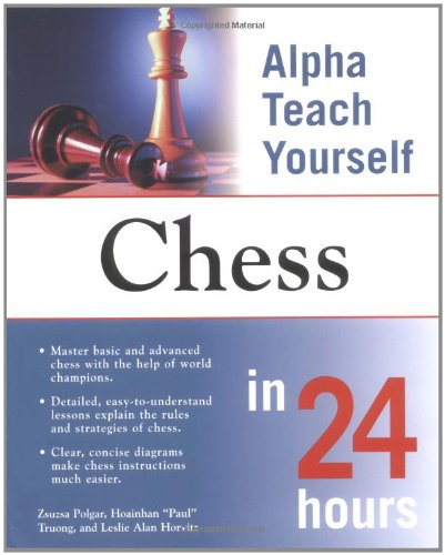 9780028644080: Alpha Teach Yourself Chess in 24 Hours
