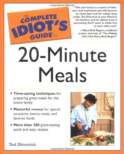 9780028644196: Complete Idiot's Guide to 20-Minute Meals