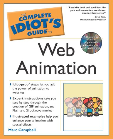 9780028644202: The Complete Idiot's Guide to Web Animation