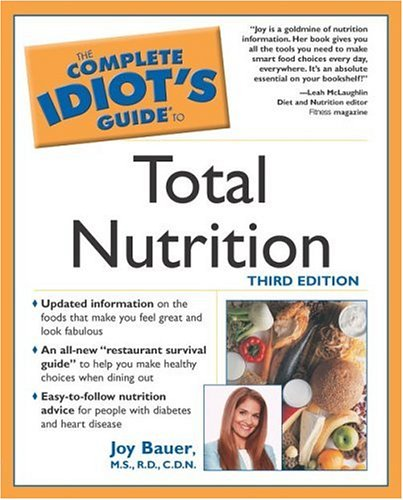 9780028644240: Complete Idiots Guide to Total Nutrition (Complete Idiot's Guides (Lifestyle Paperback))