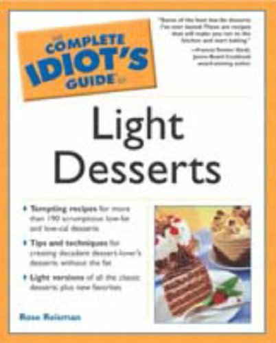 9780028644462: The Complete Idiot's Guide to Light Desserts