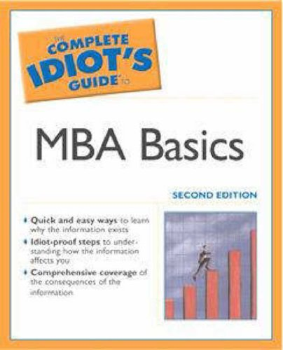 9780028644493: The Complete Idiot's Guide to MBA Basics