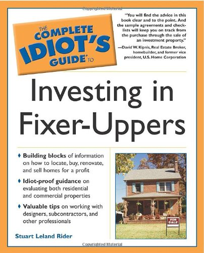 9780028644653: The Complete Idiot's Guide to Investing In Fixer-Uppers