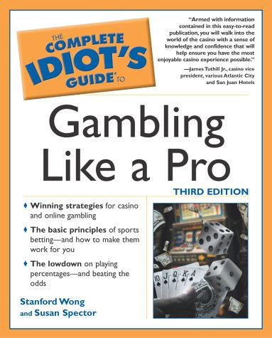 9780028644851: The Complete Idiot's Guide To Gambling Like a Pro