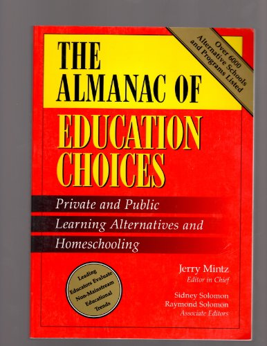 9780028645018: The Almanac of Education Choices