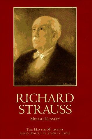9780028645179: Richard Strauss (Master Musicians (Schirmer))