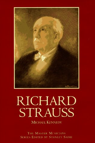 9780028645179: Richard Strauss (Master Musicians Series)