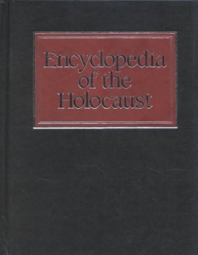 9780028645278: Encyclopedia of the Holocaust