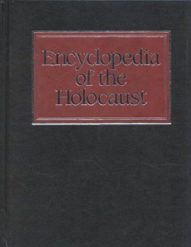 9780028645278: Encyclopedia of the Holocaust