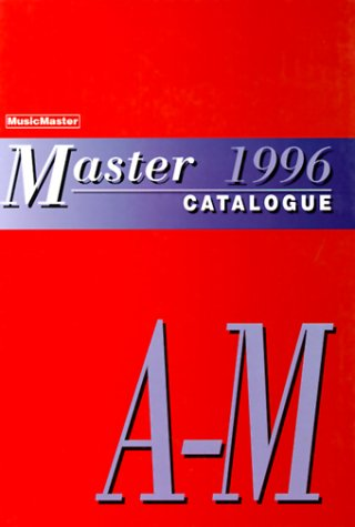 9780028645766: Master Catalogue 1996
