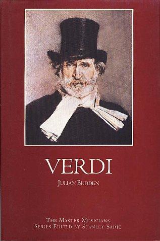 9780028646169: Verdi (Master Musicians Series)