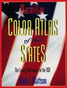 9780028646596: MacMillan Color Atlas of the States