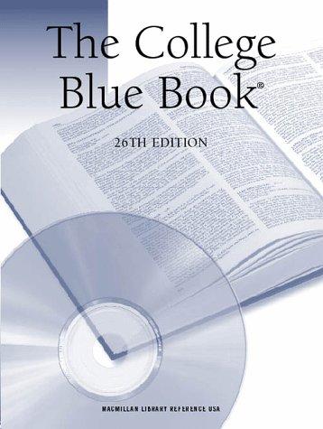 9780028647593: College Blue Book