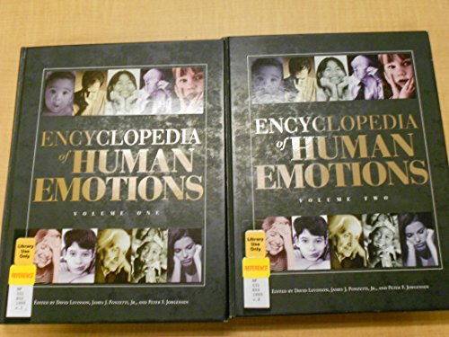 9780028647661: Encyclopedia of Human Emotions (2 Vols.)