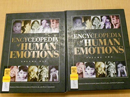 9780028647661: Encyclopedia of Human Emotions (2 Vols.)